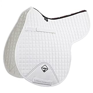 LeMieux ProSport GP/Jumping Numnah (Standard Strap) - White, Large 7