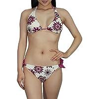 2pcs set da donna Mermaid Bikini Top & Bottom Dri-fit