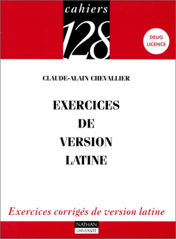 Exercices de version latine