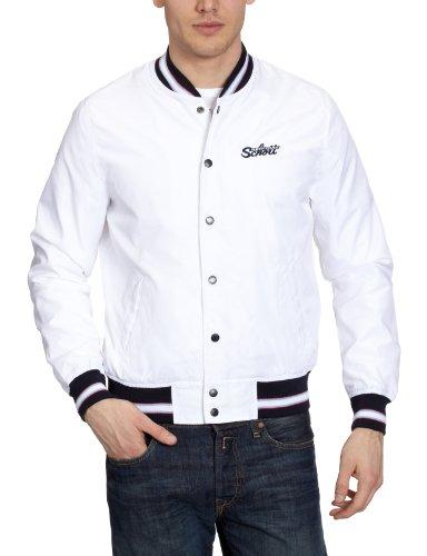 Schott NYC Herren Jacke Regular Fit STARTER 2 Weiß (White)