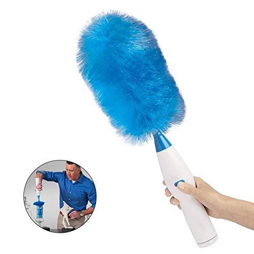 NanXi Bürsten Sie elektrische Reinigung, Staubfänger, Hausstaubmilben, gebrauchte elektrischen Duster im Büro Autos,Blau