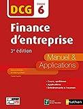 Finance d'entreprise - DCG 6 - Manuel et applications