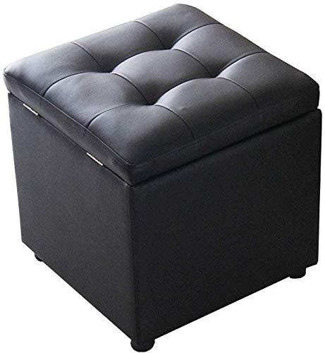 Rezeption Sitzgelegenheiten (GBX Hocker und Fußbänke, Stuhl und Hocker, Mode Lagerung Hocker ändern Schuh Hocker hochelastische Schwamm filling Pu Fuß Hocker Lagerung Toy Box Low beweglicher Picknick-Sitz Versatile Platz Saving.)