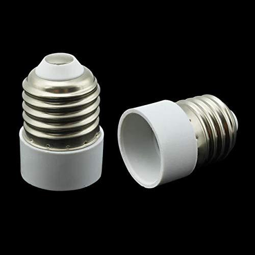 DIKHBJWQ Tischlampe Sockel Light für E27 Bis E14 GlüHbirne Nachttischlampe Lampenfassung Nachtlicht Adapterstecker Konverter Lichterkette Garten
