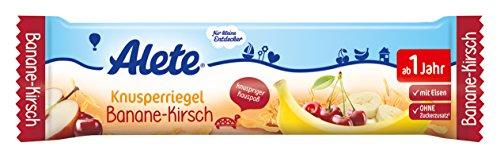 Alete Knusperriegel Banane-Kirsch, 18er Pack (18 x 25 g)