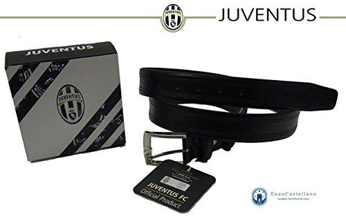 CINTURA UOMO UFFICIALE JUVENTUS FOOTBALL CLUB BY ENZO CASTELLANO - REGOLABILE (110/125, MODELLO 2)