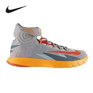 Nike  Zoom Hyperrev, Basses homme, Homme, wolf grey/team orange-atomic mango-cool grey 009, 6.5 UK / 40.5 EU / 7.5 US