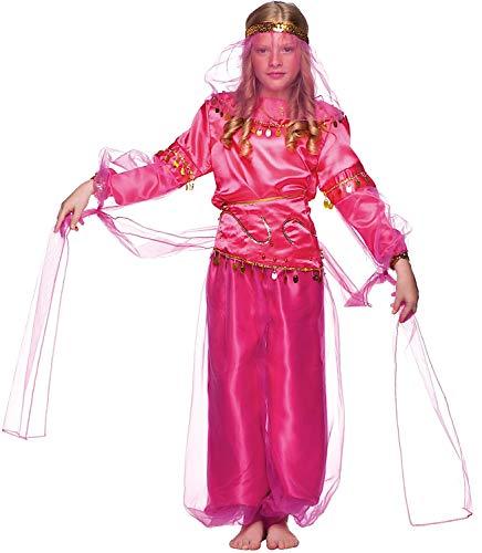 KOSTUumlM Fasching Karneval Das Baby BAUCHTNZERIN fuumlr KARNAVALKOSTUumlME Fancy Dress Halloween Cosplay Veneziano Party 1193 Size 4