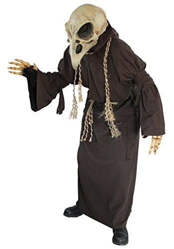 Disfraz esqueleto buitre adulto - Única