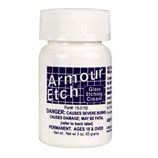 Armour Etch 3 oz. bottle (NOT RECOMMENDED FOR CLEANING GLASSES!) by Armour Etch