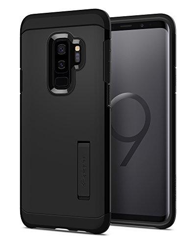 Spigen 593CS22933 Tough Armor für Samsung Galaxy S9 Plus Hülle, Doppelte Schutzschicht Handyhülle für Extrem Fallschutz Schutzhülle Case Schwarz