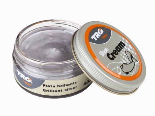 Trg Thoe One Shoe Cream-Prodotto per la Riparazione delle Calzature Argento Brilliant Silver 403 50.00 ml