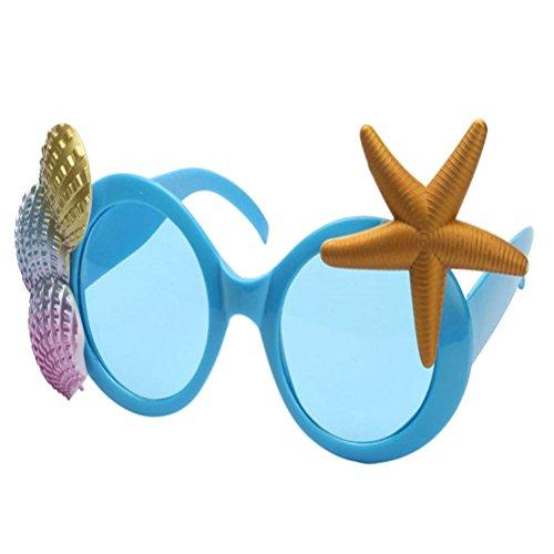 Good Night Hawaii Brillen Sonnenbrillen für Luau Party Requisiten Dekorationen, Shell Sonnenbrillen