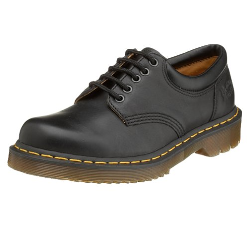 Dr. Martens 5 Eye Padded Collar,Black Nappa,8 UK (US Men's 9 M/Women's 10 M) (Collar Padded Eye)