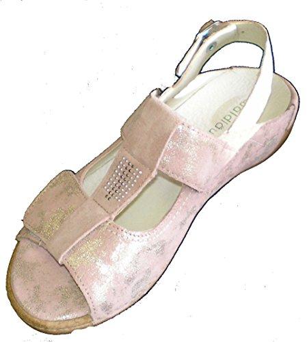 Waldläufer 342015-791-139 Heliett Damen Sandale Weite H skin ( rosa )