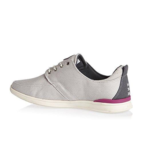 Reef Damen Rover Low Sneaker Grey