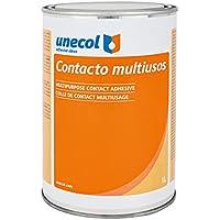 Unecol 3219 - Adhesivo de contacto multiusos (bote, 1 l) color beige