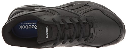 Reebok Walk Ultra V DMX MAX Breit Synthetik Wanderschuh Black