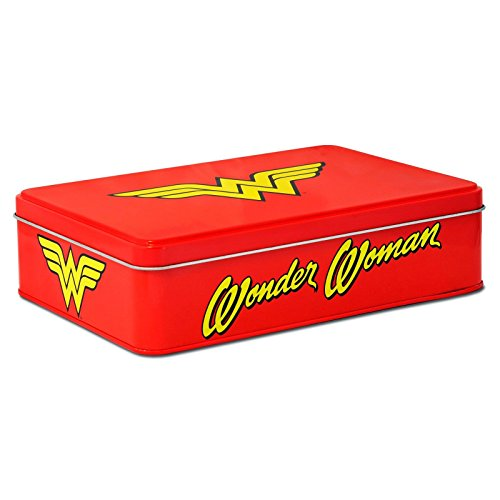 DC Comics - Wonder Woman - Sandwichdose Brotdose - Logo (Wonder Kostüm Woman Gürtel)
