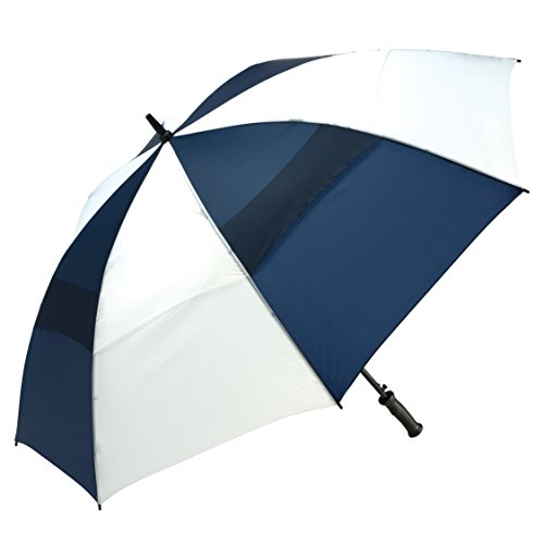 shedrain-4160a-navywhite-windjammer-vented-auto-open-golf-umbrella-62-inch-arc