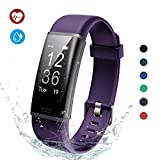Lintelek Fitness Tracker, Fitness Tracker Smart Watch Pedometer, Activity Tracker with Heart Rate