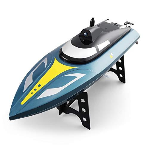 LYXF S4 RC Boot Hoher Geschwindigkeit, 25 Km/H, Schnellboot Racing RC Modellboot, Halterung AR 2,4 G, 720 P Toys