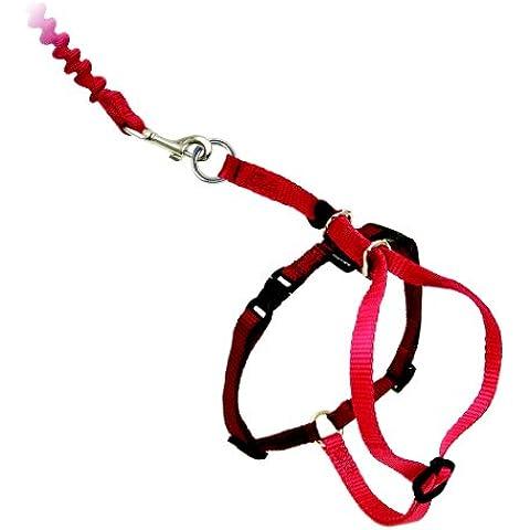 PetSafe Easy Walk Harness Cat & Piombo - grande - Rosso