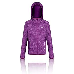 Regatta Kinder Dissolver Ii Extol Stretch Knit Effect Hooded Fleece