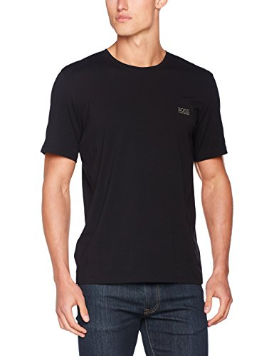 Match Herren Shirt (BOSS Hugo Boss Herren Mix & Match T-Shirt R, Blau (Dark Blue 403), Large)
