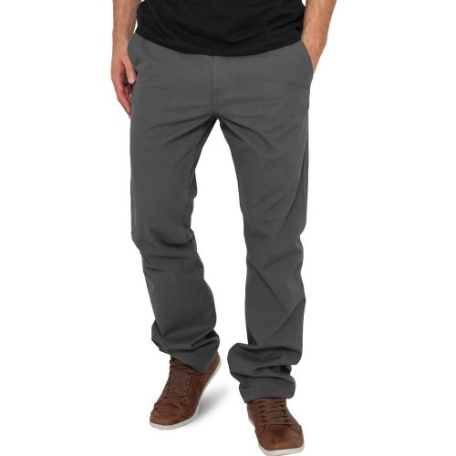 Urban Classics Chino Pantalon Chino Black Darkgrey