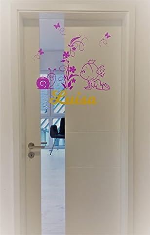 *NEU* Aufkleber - Sticker für Wände,Türen uvm ***Mit Ihrem Wunschtext.-Größen.- und Farbauswahl)