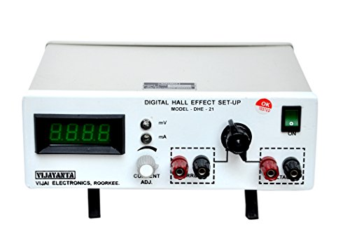 Vijayanta Hall Effect Sub Unit-Constant Current Power Supplies 0 – 4, Amp. Suitable for EMU-50. Color-White Grey 270 x 350 x 130