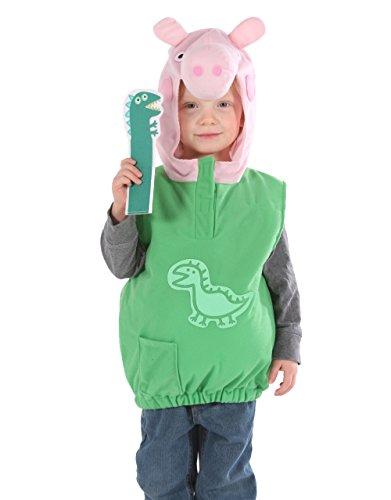 George Pig Costume Déguisement de dinosaure pour enfant Motif Peppa ()