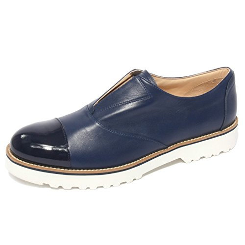 B0644 sneaker donna HOGAN ROUTE slip-on blu shoe woman Blu