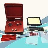 CAheadY Ersatzteilgehäuse für Nintendo GBA Gameboy Advance SP, langlebiges Zubehör