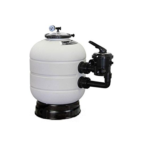 Fluidra 35321 - Filtro Millenium con Salida Lateral t/zuncho 5500 l/h d.380 mm Sal. 1 1/2''