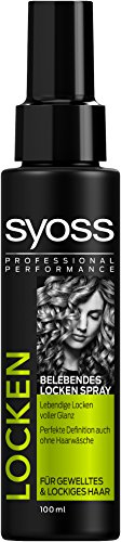 Syoss Belebendes Locken Spray, 2er Pack (2 x 100 ml)