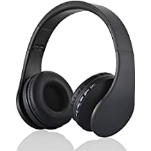 Cuffie stereo bluetooth wireless, Lemonda 4 in 1 Headphone over-ear