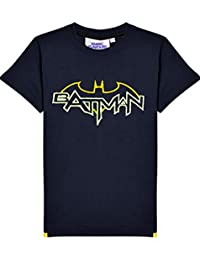 Kids Batman Tuft Glow In The Dark T-Shirt by Fabric Flavours