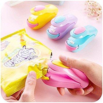 EQLEF® Plastic Heat Sealer Capper Mini Cachetage Magnetic Bottom super Sealer Pour Sacs en plastique Cabinet Seals Accessoires aliments frais