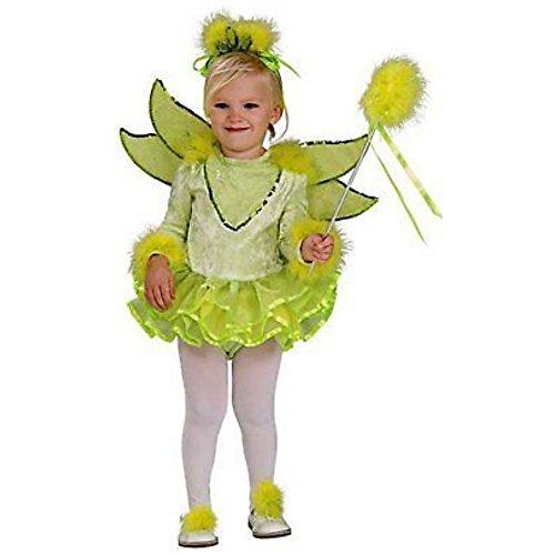 Tinkerbelle Kostüm - Pumpkin Junction Tinkerbelle Kinder Mädchen Fasching Halloween Karneval Kostüm 104 - 116