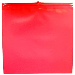 Warning Flags 30 x 30 cm Red Pack of 10