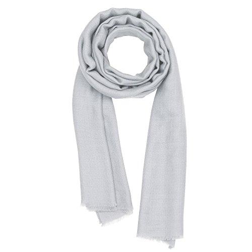 Kashfab Kashmir Frauen Herren Winter Mode Solide Schal, Wolle Seide stole, Weich Lange Schal, Warm Paschmina High-Rise (Faser-schal)