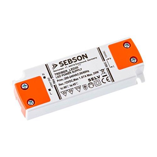 SEBSON 20W LED Treiber / LED Trafo (Treiber-treiber -)