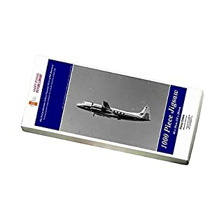 Media Storehouse 1000 Piece Puzzle of The first production Vickers Viscount 701 G-ALWE Discovery (9893755)