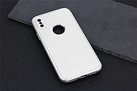 iPhone X Case, Chickwin Acrylic Back and Frame soft shell TPU Shockproof Corner Reinforced 360 Degree Protection Shock Absorption for iPhone