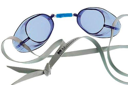 Original Malmsten-Schwedenbrille, Anti-Fog Anti-Fog Blau
