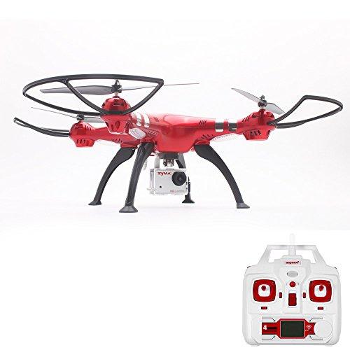 Qomomont Syma X8HG HD Live Drohne mit 8MP Kamera 2,4 GHz 4CH 6-Achsen-Gyro RC Quadrocopter RTF professionelle Drohne für Anfänger