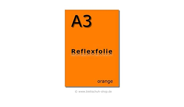 Orafol wiederablösbar Reflexfolie Reflektorfolie A3 RA1 Fahrzeugverklebung