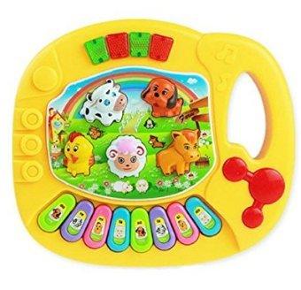 S-LOVE bébé Enfant Animal Farm Piano électrique Jouet Instrument de Musique Piano Puzzle Jouet Enfant Cadeau